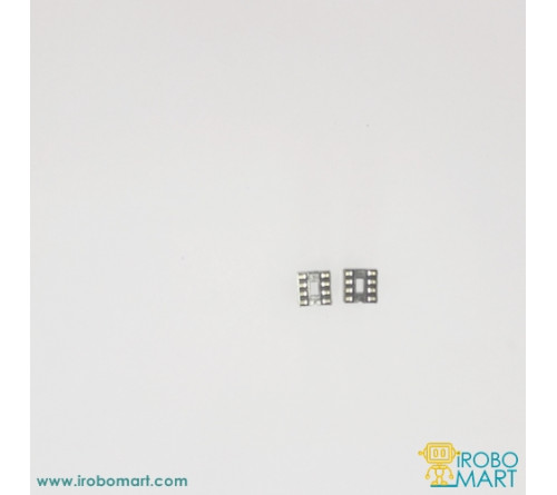 8 Pin IC base (Pack of 2)